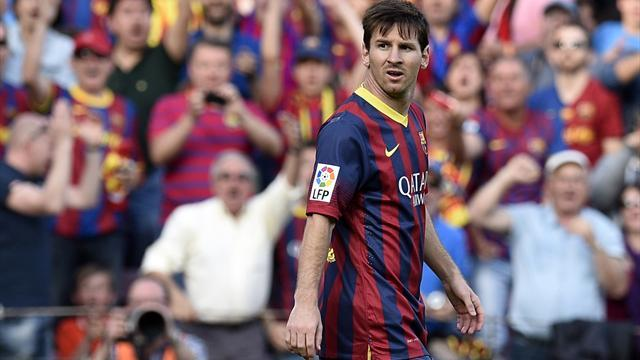 Liga - Messi 'jeered' by Camp Nou supporters
