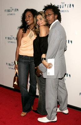 Premiere: Sonja Sohn, Callie Thorne and Andre Royo at the New York premiere of Revolution Studios' The Forgotten - 9/21/2004
