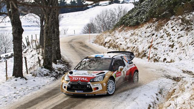 WRC - Loeb clinches win in Monte Carlo
