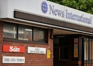"News International's headquarters in east London, pictured in 2011. A British parliamentary report says Rupert Murdoch showed ""wilful blindness"" over phone hacking at his News of the World tabloid and was not fit to run a major company"