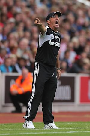 Tony Pulis admitted he was left frustrated by Stoke's 0-0 draw against Sunderland