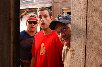 Sean Astin , Adam Sandler and Blake Clark in Columbia's 50 First Dates