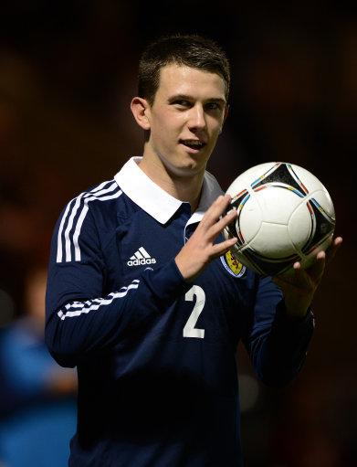 Ryan Jack suffered a broken foot playing for Scotland Under-21s