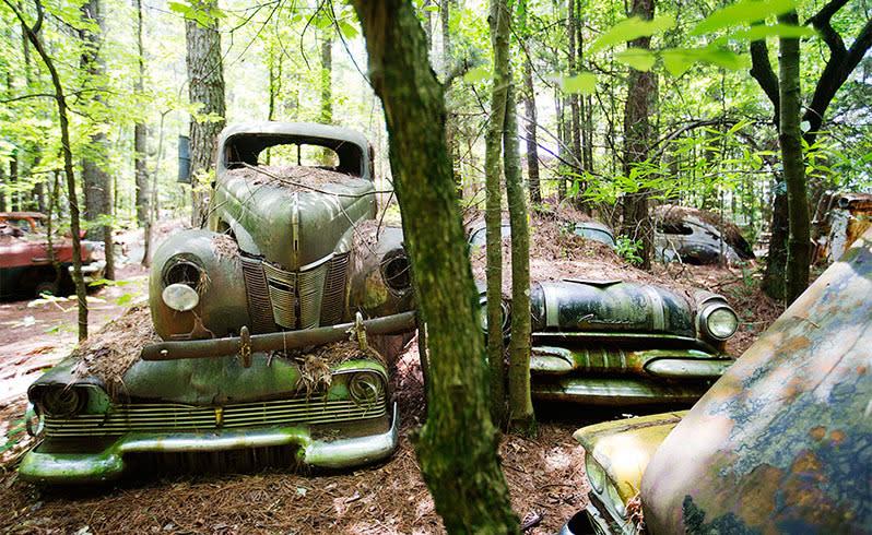El cementerio de autos más grande del mundo