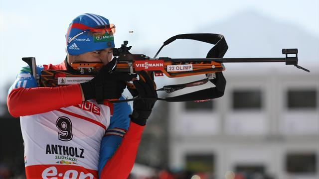 Biathlon - Shipulin completes Antholz double