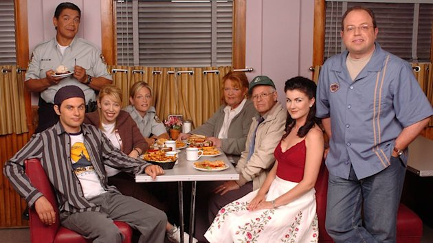 The cast of Corner Gas took to Twitter as the movie based on their TV show aired on CTV.