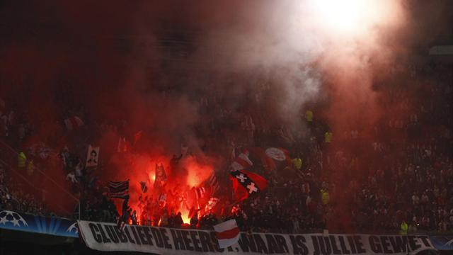 Champions League - Ajax charged by UEFA over crowd disturbances at Celtic