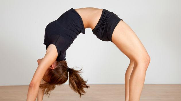 Lose belly fat with yoga
