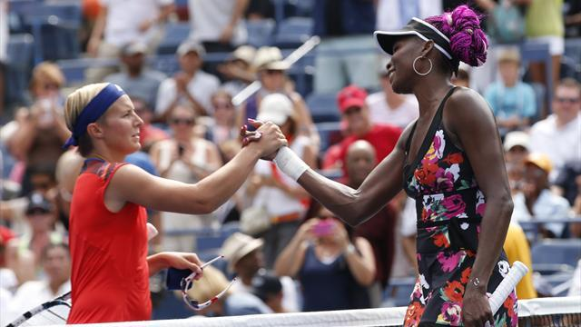 US Open - Nadal, Williams sisters cruise at US Open