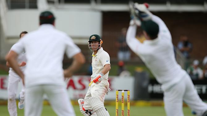 South Africa v Australia - 2nd Test: Day 2