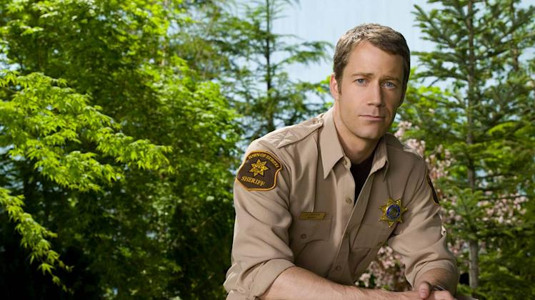 Colin Ferguson stars as Jack Carter in Eureka.