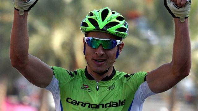 Cycling - Sagan beats Cavendish in Tirreno-Adriatico sprint