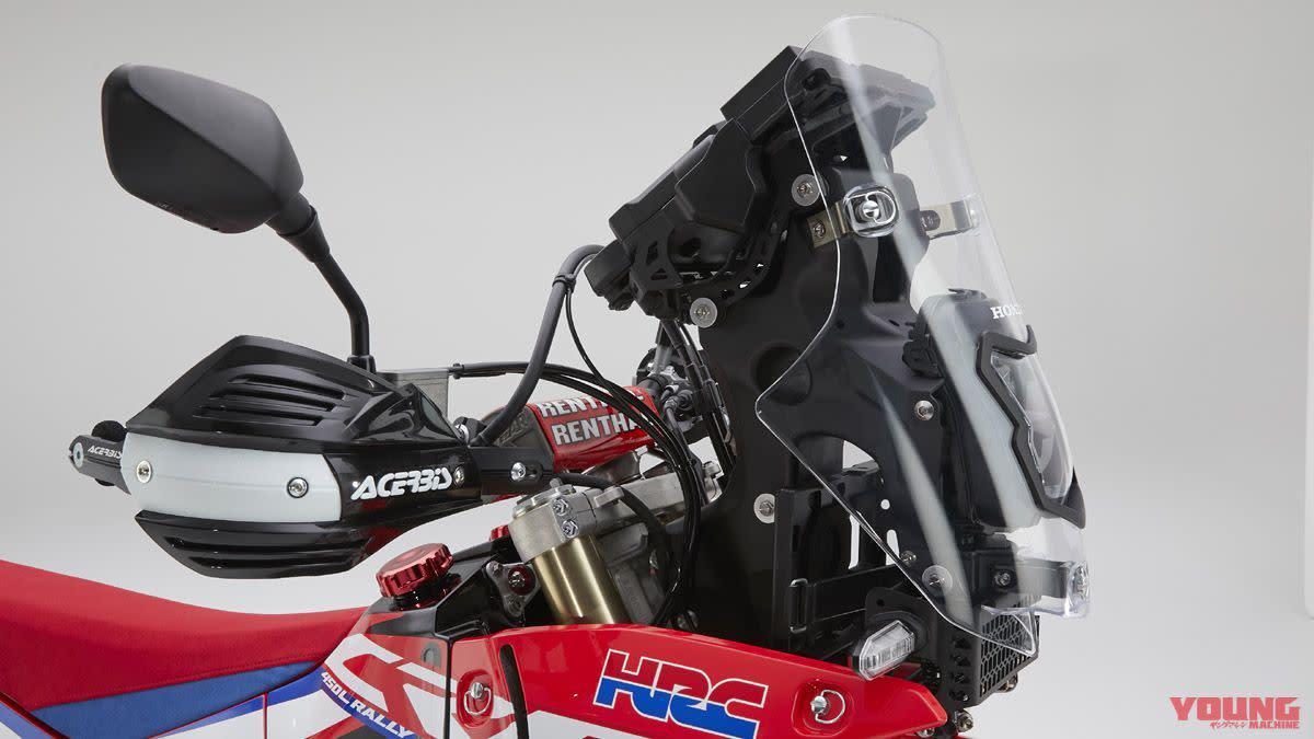 向達卡拉力賽致敬! HONDA「CRF450L Rally」概念車款