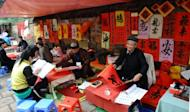 Vietnam calligraphers help welcome Year of the Snake