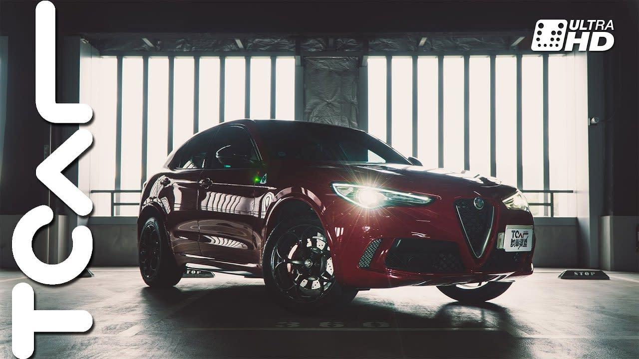 暴力四葉草 Alfa Romeo Stelvio Quadrifoglio 新車試駕 - TCAR
