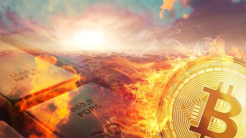 Bitcoin, giorni da brivido: test verso incrocio della morte
