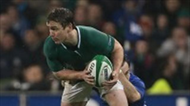 Rugby - Reddan blow for Ireland