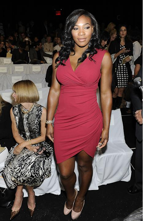 Serena Williams at Michael Kors