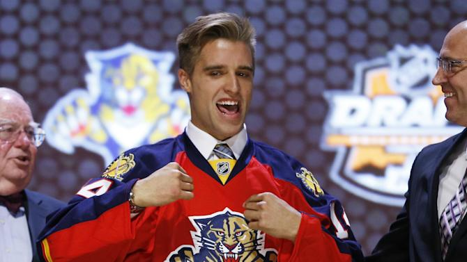 Panthers take Ekblad with No. 1 pick in NHL draft