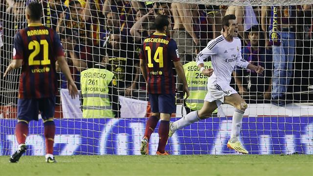 Copa del Rey - Bale's goal hailed after Real's win over Barca