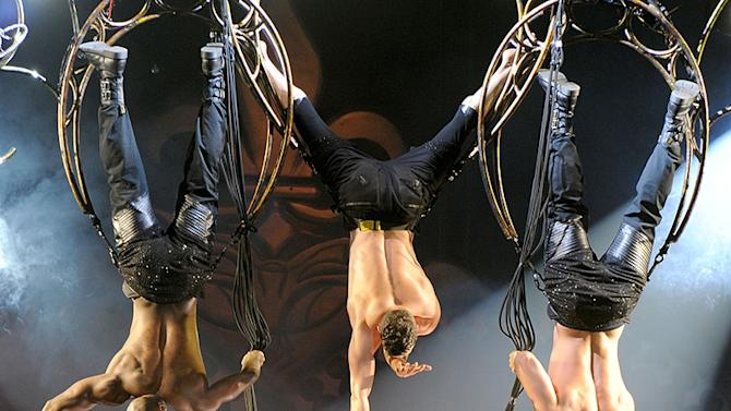 Pink Performs At The Manchester Arena