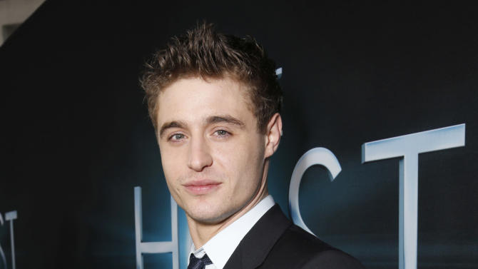 """Max Irons arrives at the LA premiere of """"The Host"""" at the ArcLight Hollywood on Tuesday, March 19, 2013 in Los Angeles. (Photo by Todd Williamson/Invision/AP)"""