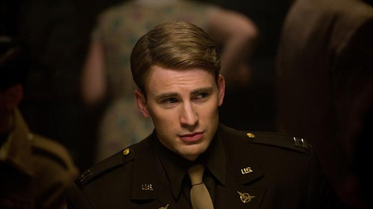 Captain America The First Avenger 2011 Marvel Paramount Pictures Chris Evans