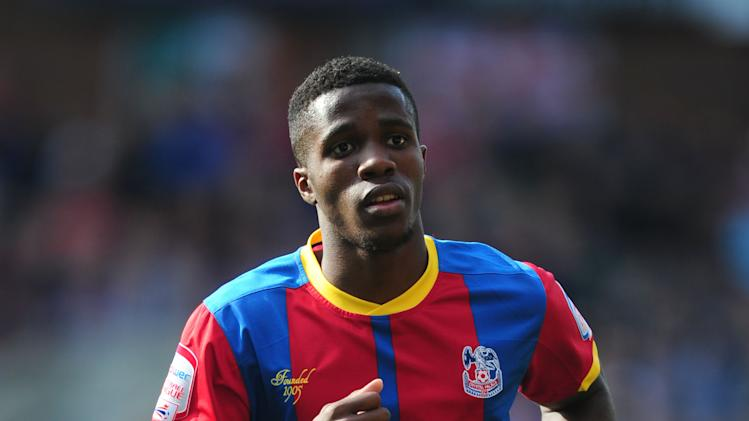 Wilfried Zaha netted twice in Palace's comeback win over Burnley