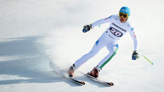 Alpine Skiing - Innerhofer triumphs in Garmisch downhill