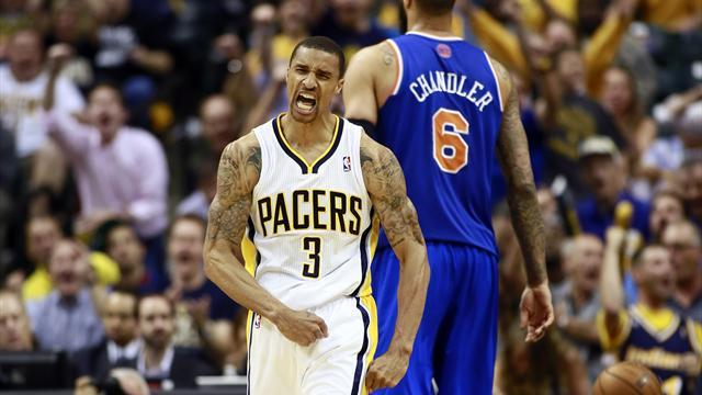 NBA - Pacers smother Knicks, Spurs whip Warriors