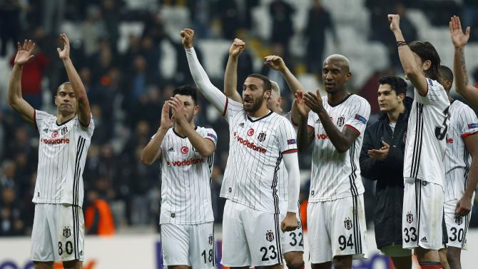 Football Soccer - Besiktas v Hapoel Be'er Sheva