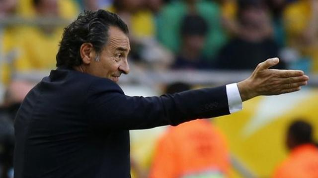 World Cup - Italy coach Prandelli has 'absolutely not' decided future