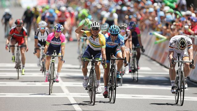 Cycling - Gerrans reclaims Tour Down Under lead on penultimate stage