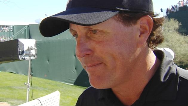 Phil Mickelson interview after Round 3 of Waste Management