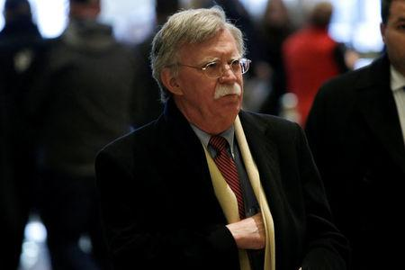 FILE PHOTO: Former U.S. Ambassador to the United Nations Bolton arrives for a meeting with U.S. President-elect Trump at Trump Tower in New York