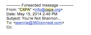 The Best Email Blunder Comeback Ever image YoureNotShannon 1