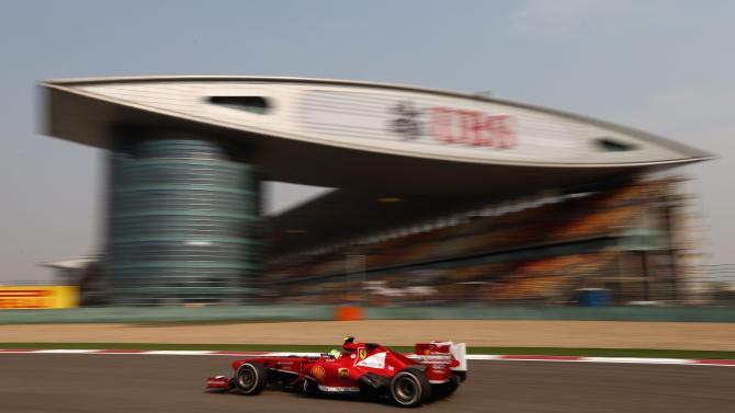 F1 Grand Prix of China - Practice