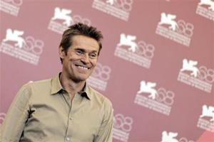 """U.S. actor Dafoe poses during a photocall for film """"4:44 Last Day on Earth"""" at the 68th Venice Film Festival"""