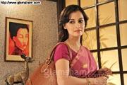 Dia Mirza dubs for her debut Bengali film PAANCH ADHYAY