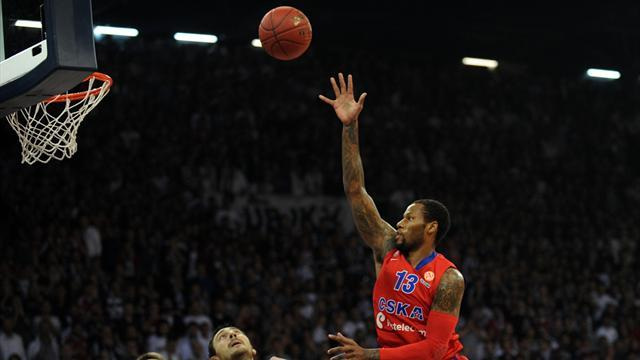 Basketball - CSKA thrash Besiktas to stop Turkish treble