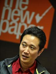 "Zaihan Mohamed Yusof, an investigative reporter with Singapore's The New Paper, speaks during an interview on February 5, 2013. ""If you arrest Dan Tan, the signal it gives is that investigators can reach out and touch you,"" said Zaihan, who spoke to Tan Seet Eng in a rare interview in 2011"