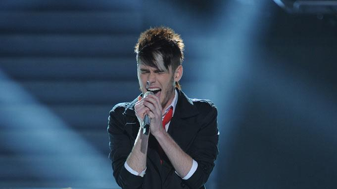 "Colton Dixon performs ""Decode"" by Paramore on ""American Idol."""