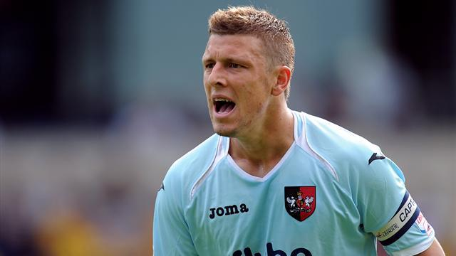 League Two - New contract for Exeter skipper Coles