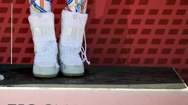 The White Boots AFP/Getty Images