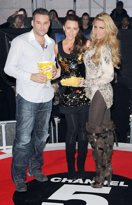 Former lovebirds Dane Bowers and Katie Price reunited at the premiere, and hung out with pregnant pal Michelle Heaton.