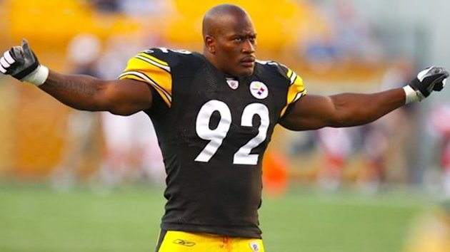 AMERICAN FOOTBALL 2010 NFL Pittsburgh Steelers James Harrison