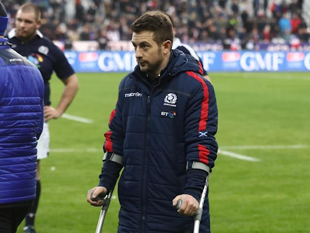 Scotland captain Greig Laidlaw ruled out for the rest of the Six Nations