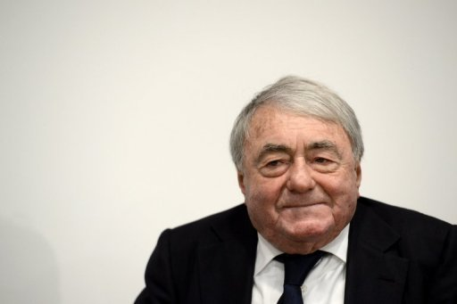 "French film-maker Claude Lanzmann pictured on February 13, 2013 during the 63rd Berlin film festival. Lanzmann, renowned for his ground-breaking 1985 documentary ""Shoah"", will accept a lifetime achievement award on Thursday"