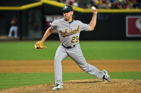 MLB: Oakland Athletics at Arizona Diamondbacks