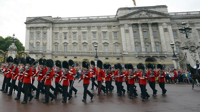 Football - Buckingham Palace hosts first ever match